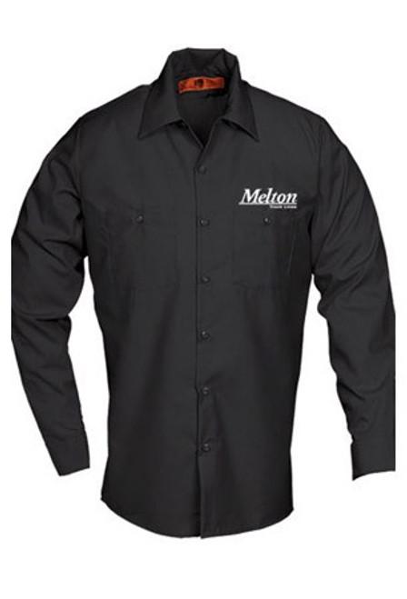 REED Work Shirt 6240 L/S - Black