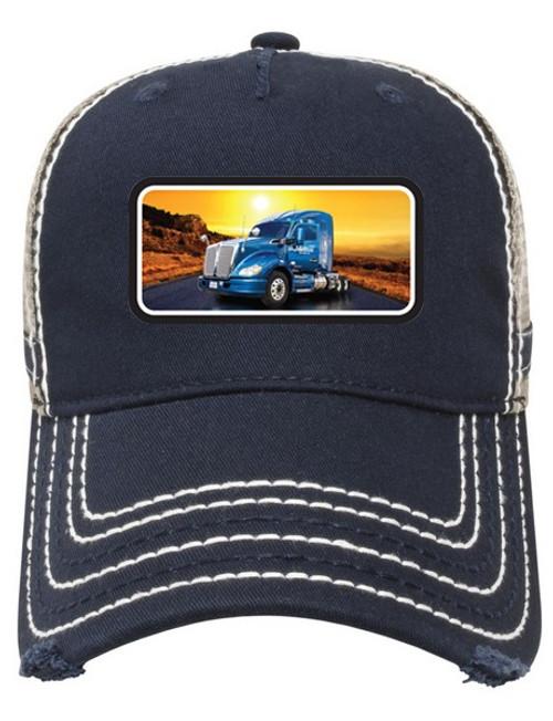 Heavy Wash Chino Twill Low Profile w/ Sublimated Truck Applique
