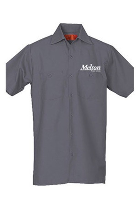 REED Work Shirt 654 S/S - Charcoal