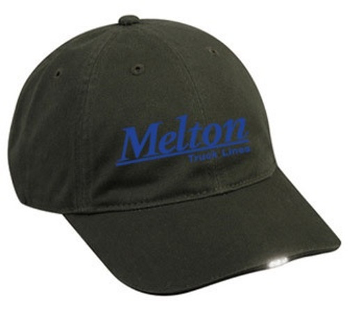 HiBeam Outdoor LED Light Fashion Washed Cotton Hat - 3 Color Options