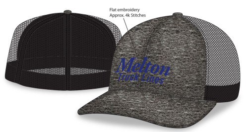 One-Size Stretch-Fit Mesh Back Cap