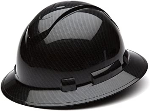 Ridgeline Full Brim Hard Hat Black Graphite