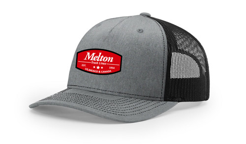 Five Panel Trucker Hat - Sublimated Melton Patch