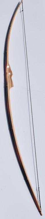 """72"""" Bamboo Backed Hickory Longbow"""