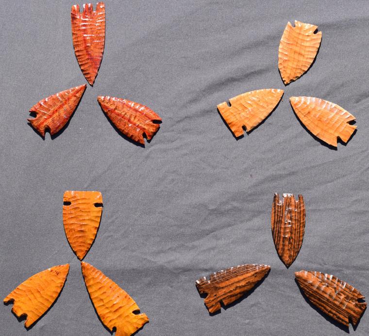 Wooden Arrowheads