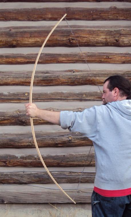 U-Complete English Longbow-Triple lamination-Bamboo Backed
