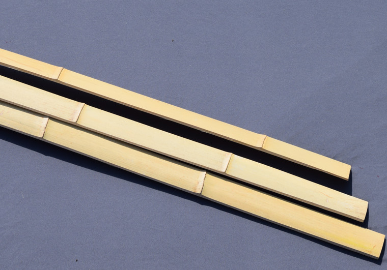 Heat tempered Bamboo backing strips