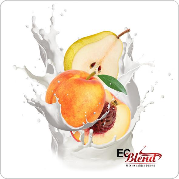 Dragon's Delight: Peaches & Pear - Premium Artisan E-Liquid | ECBlend Flavors