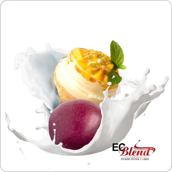 Dragon's Passion: Creamy Passion Fruit - Premium Artisan E-Liquid | ECBlend Flavors