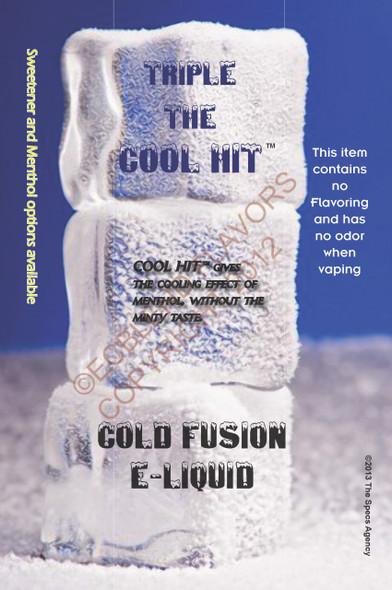 Cold Fusion Eliquid Poster