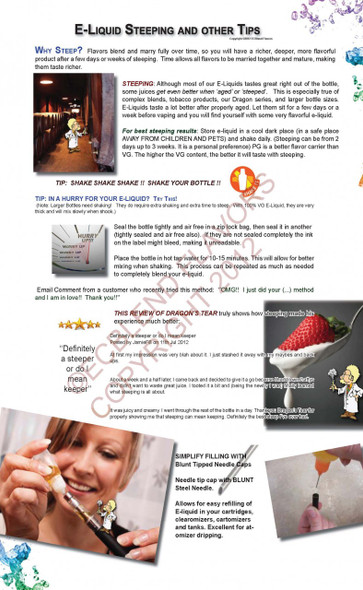 Steeping and other Tips  2 Posters