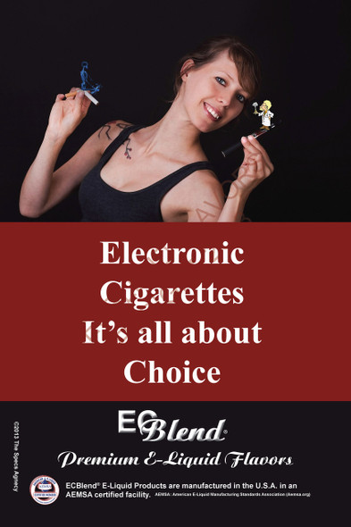 Poster - Its All About Choice  - Type 2 - ECBlend Brand