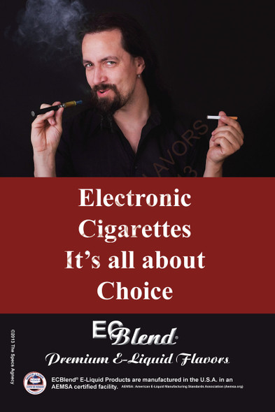Poster - Its All About Choice  - Type 21 - ECBlend Brand