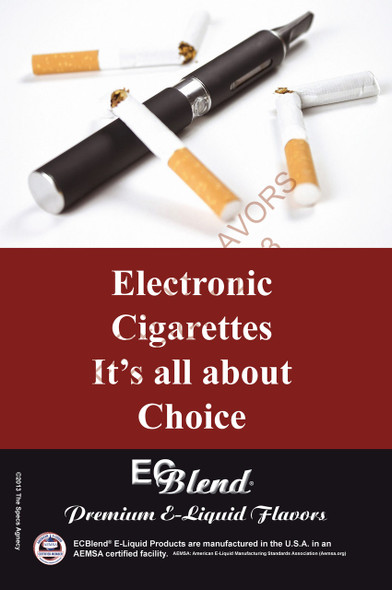 Poster - Its All About Choice  - Type 4 - ECBlend Brand