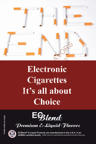 Poster - Its All About Choice  - Type 6 - ECBlend Brand