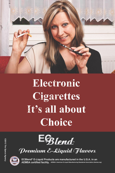Poster - Its All About Choice  - Type 7 - ECBlend Brand