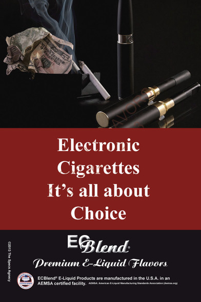 Poster - Its All About Choice  - Type 8 - ECBlend Brand