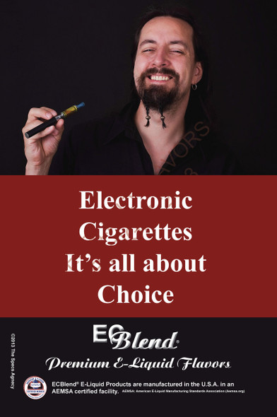 Poster - Its All About Choice  - Type 10 - ECBlend Brand