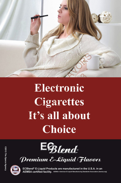 Poster - Its All About Choice  - Type 11 - ECBlend Brand