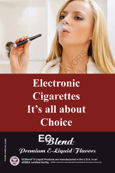 Poster - Its All About Choice  - Type 12 - ECBlend Brand