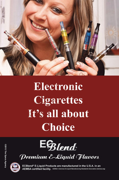 Poster - Its All About Choice  - Type 13 - ECBlend Brand