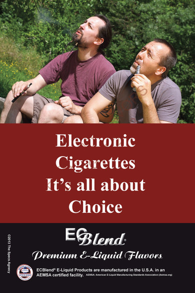 Poster - Its All About Choice  - Type 15 - ECBlend Brand