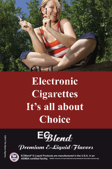 Poster - Its All About Choice  - Type 16 - ECBlend Brand