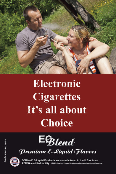 Poster - Its All About Choice  - Type 18 - ECBlend Brand