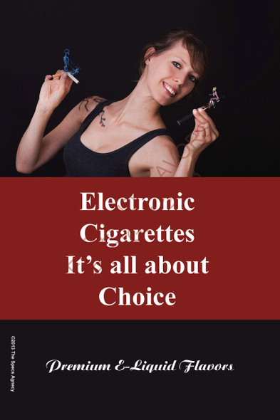 Poster - Its All About Choice - Type 2 - No Name Brand