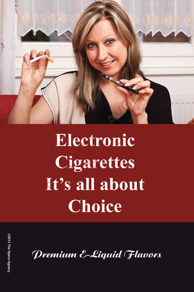 Poster - Its All About Choice - Type 7 - No Name Brand