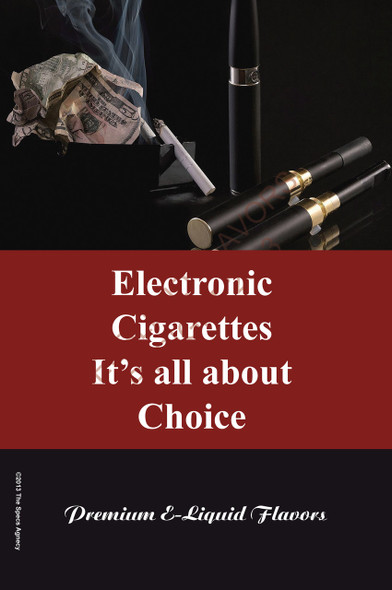 Poster - Its All About Choice - Type 8 - No Name Brand