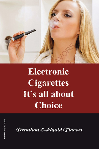 Poster - Its All About Choice - Type 12 - No Name Brand