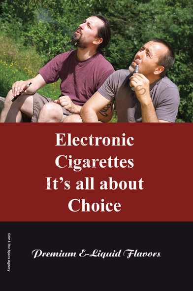 Poster - Its All About Choice - Type 15 - No Name Brand
