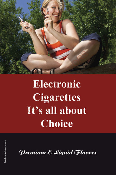 Poster - Its All About Choice - Type 16 - No Name Brand