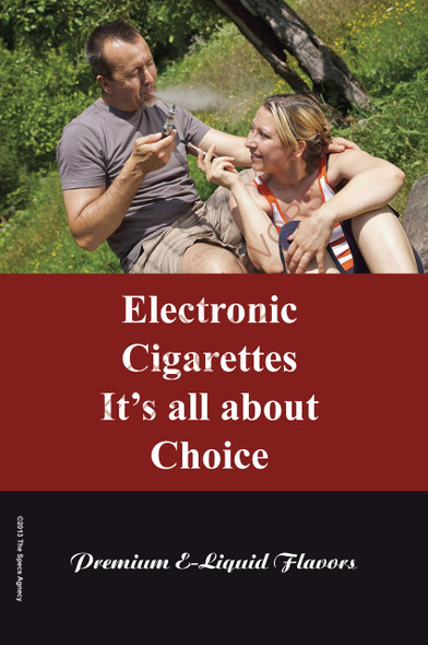 Poster - Its All About Choice - Type 18 - No Name Brand