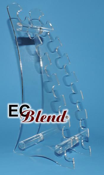 Acrylic E-Cigarette Display 8 slots by ECBlend E-Liquid Flavors