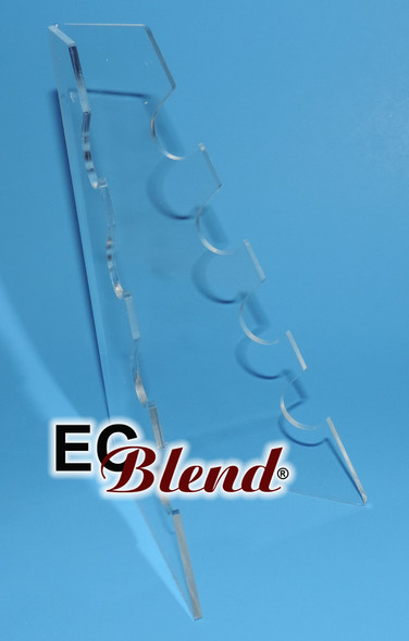 Acrylic E-Cigarette Battery Display Stand 4 slot by ECBlend E-liquid Flavors