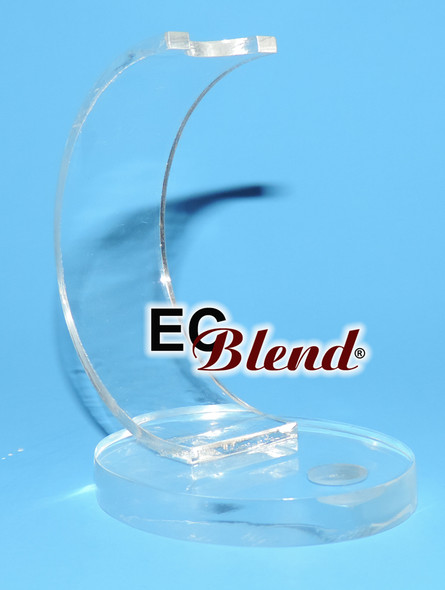 Clear acrylic E-Cigarette Display Stand by ECBlend E-Liquid Flavors