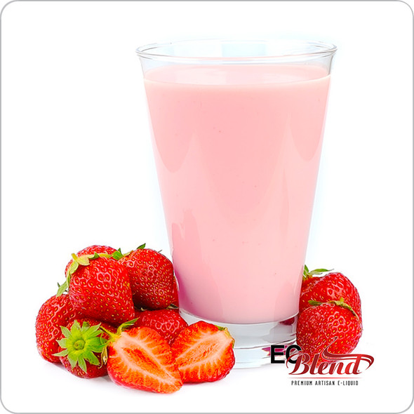 Strawberry Milk - Premium Artisan E-Liquid | ECBlend Flavors
