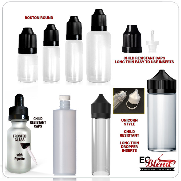 Empty Bottles - All Types - All Sizes
