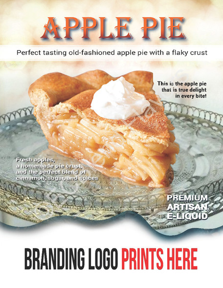 ECBlend Product Poster-ApplePie