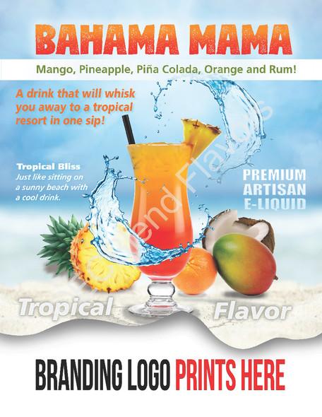 ECBlend Product Poster-BahamaMama