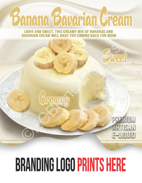 ECBlend Product Poster-BananaBavarianCream
