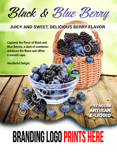 ECBlend Product Poster-BlackandBlueBerry