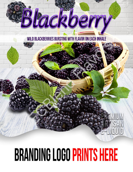 ECBlend Product Poster-Blackberry