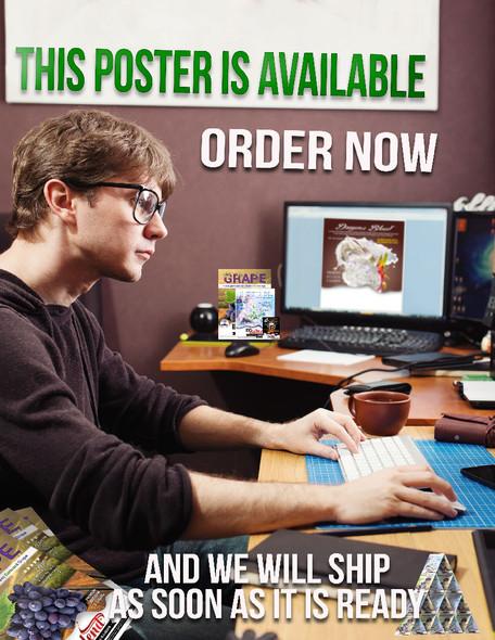 ECBlend Product Poster-BlackberryTobaccoBlend
