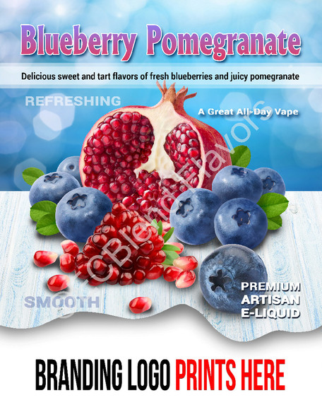 ECBlend Product Poster-BlueberryPomegranate