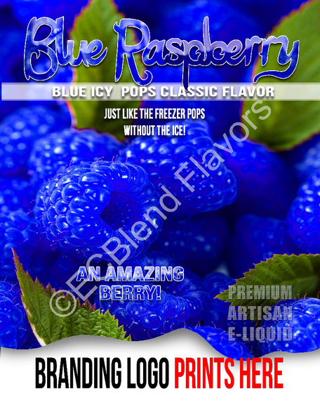 ECBlend Product Poster-BlueRaspberry