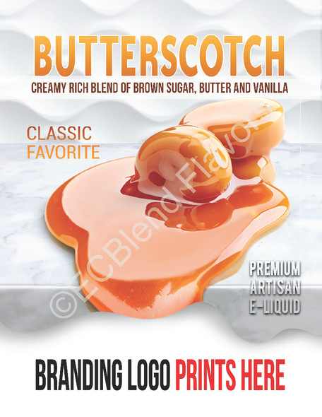 ECBlend Product Poster-Butterscotch