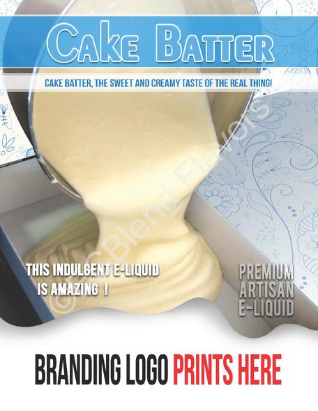 ECBlend Product Poster-CakeBatter